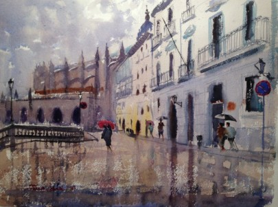 acuarela, watercolor, Lekeitio